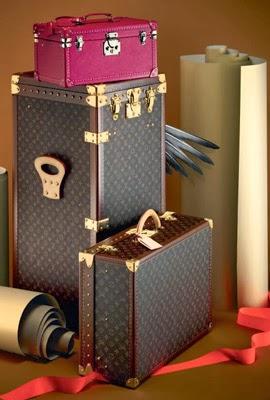 Louis Vuitton maletas el arte de regalar