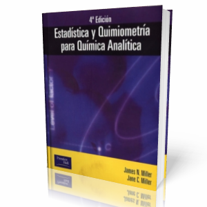 Estadstica y Quimiometra para Qumica Analtica por James N. Miller