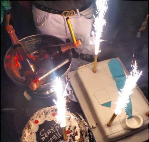 Pictures From Actor Mike Ezuruonye's Birthday - Cossy Orjiakor, Osita Iheme, Julius Agwu