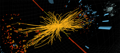 Colisión protón-protón LHC