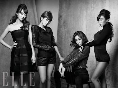 Sistar - Elle Magazine July Issue 2013