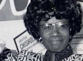 Shirley Chisholm in1972 she became the first major-party black candidate for President of the United States for the Democratic party.