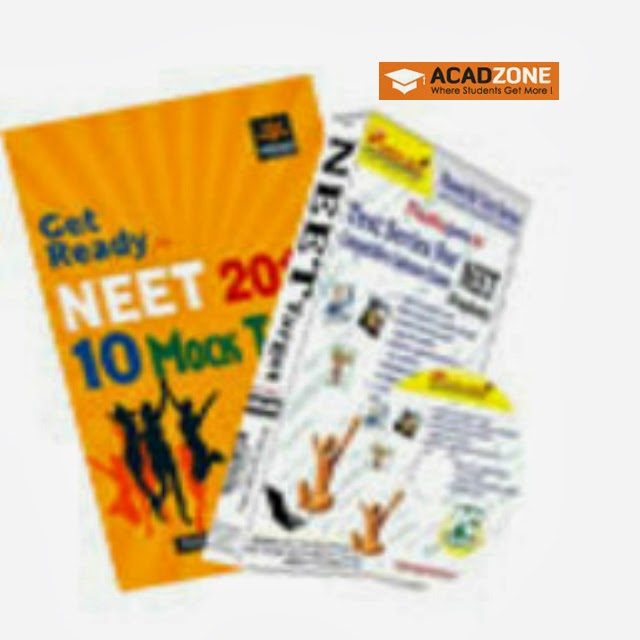 10 Mock Tests for NEET 2013 and NEET Target With CD Combo Offer Books Acadzone.com