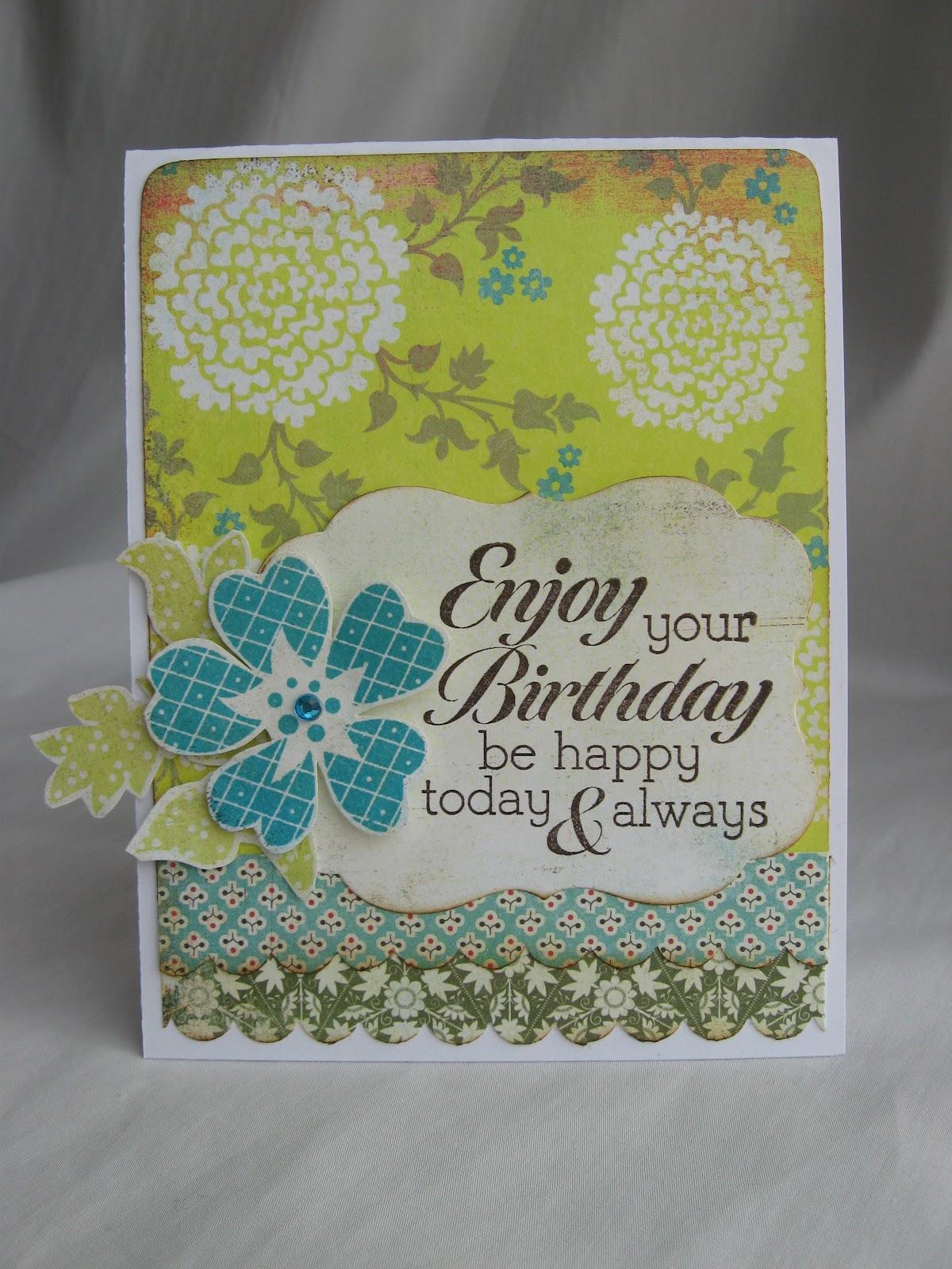 Crafty Girl Designs Luscious Birthday