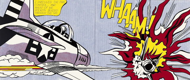 Whaam! Roy Lichtenstein, 1963; Purchased 1966 © Estate of Roy Lichtenstein