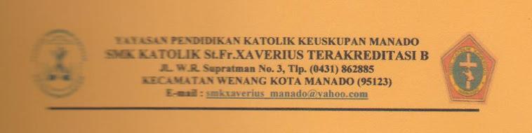 UNTUK LEBIH JELASNYA ANDA BISA TELP. KE NO. SEKOLAH SMK ST.FR.XAVERIUS MANADO