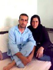 Youcef Nadarkhani y esposa