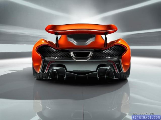 Gambar Rupa Supercar Mclaren P1