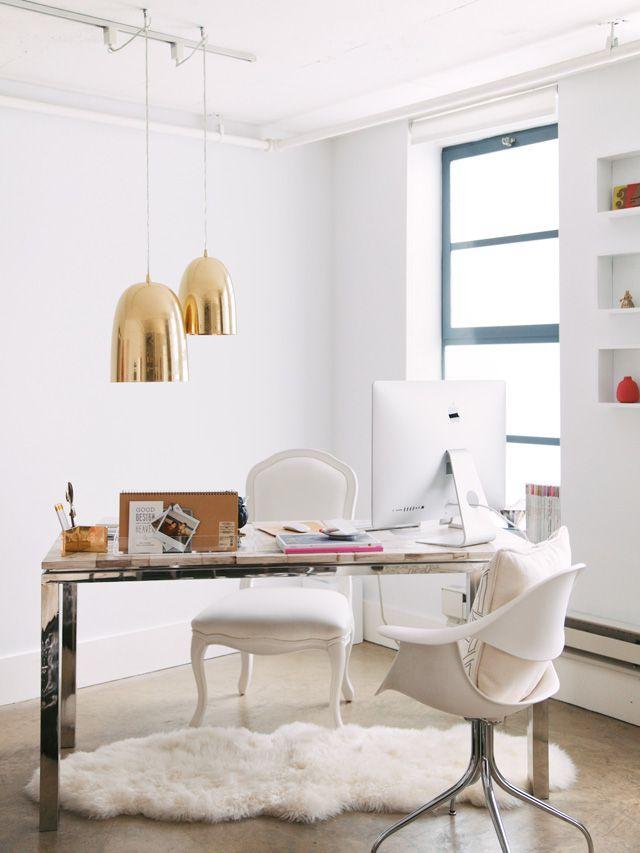 White gold home office daily dream decor bloglovin for Decor you adore facebook