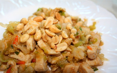 Thai Chicken with Peanuts
