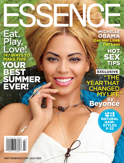 Beyonce Covers ESSENCE Mag's July Issue