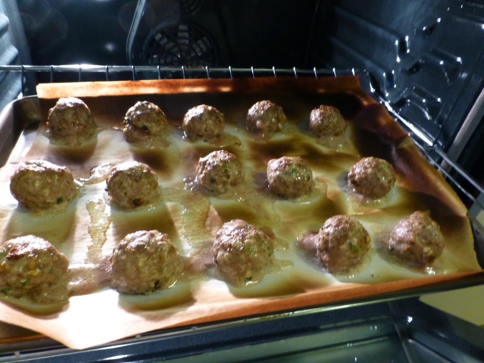 Douglas Kitchen Odyssey: Rosemary Porcini Meatballs with Polenta