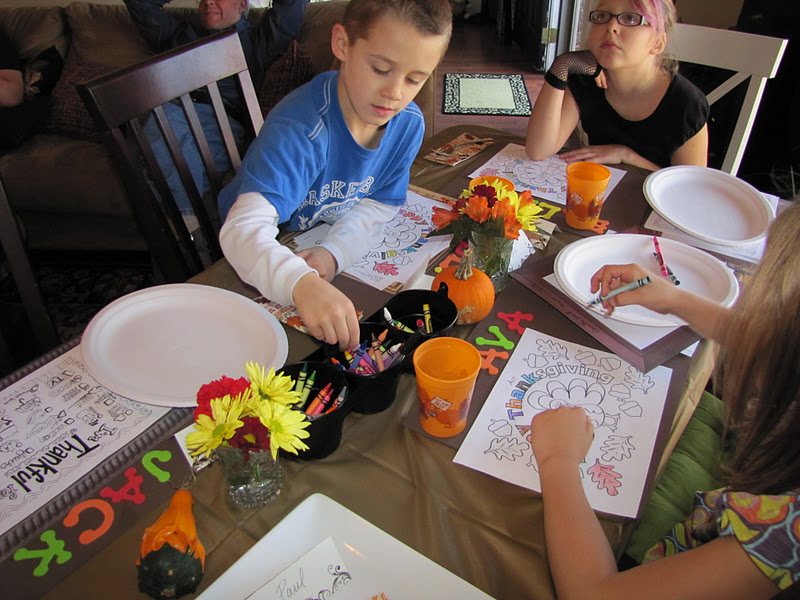 All About Thanksgiving Coloring Page Hobby Lobby