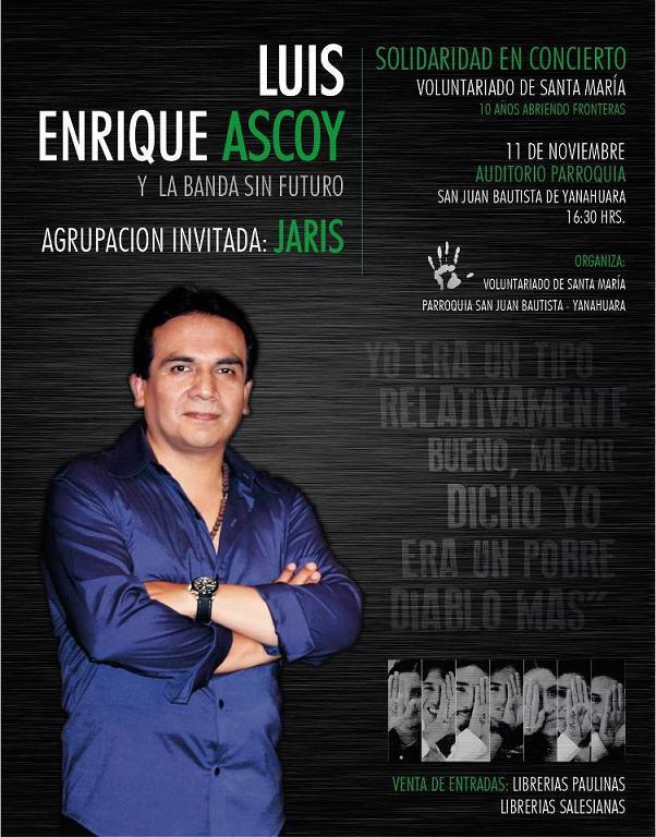 LUIS ENRIQUE ASCOY EN AREQUIPA  (11 Nov)