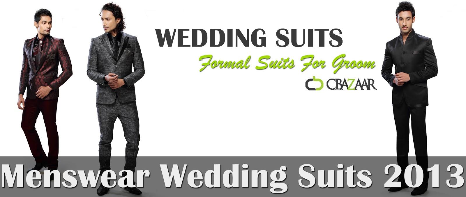 Menswear Wedding Suits 2013 2014