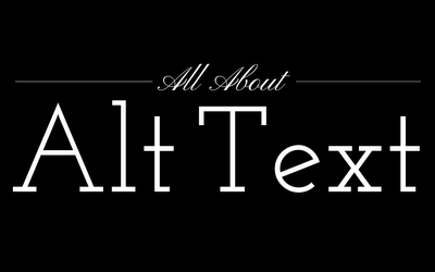 all about alt text