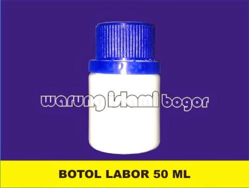 Jual Botol Labor HDPE 50ml Warna Warni