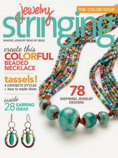 Published in Jewelry Stringing, Spring 2014 issue