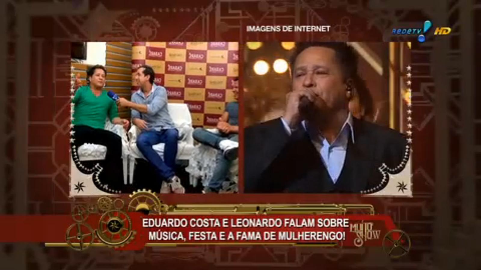 Cabaré Leonardo Eduardo costa no programa muito show 18 /03 2015
