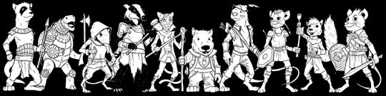 Hero Kids - Heroes IV - Lineup