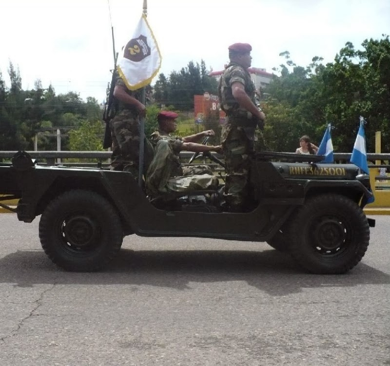 Fuerzas Armadas de Honduras Jeep_210
