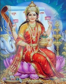 Это - Богиня Денег Лакшми. Скопируйте в дневник и через 7-8 дней Вы получите неожиданные деньги