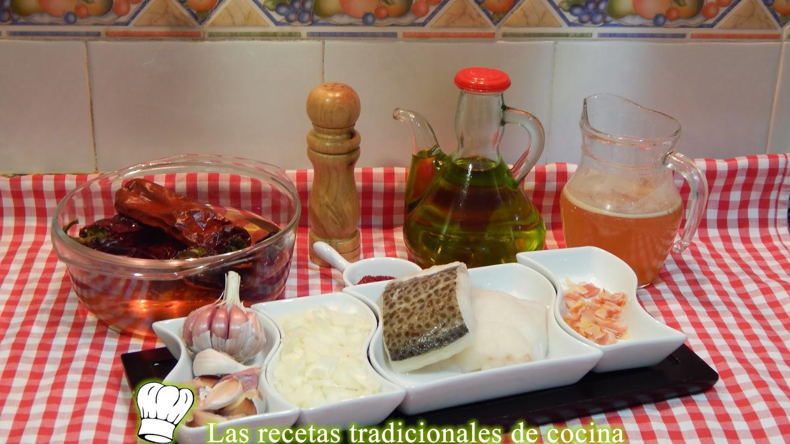 Receta de bacalao con salsa Vizcaína
