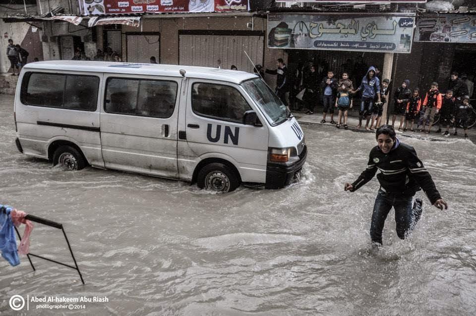 Gambar Banjir Di Gazza Palestin
