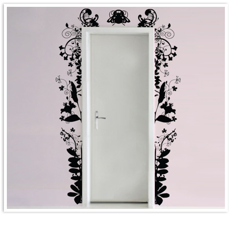 Portes originales trucs astuces et id es d co for Decoration originales porte