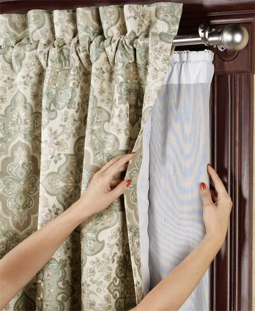 Curtains Ideas curtain liner blackout : Curtain Ideas: Blackout curtain liners for tab top curtains