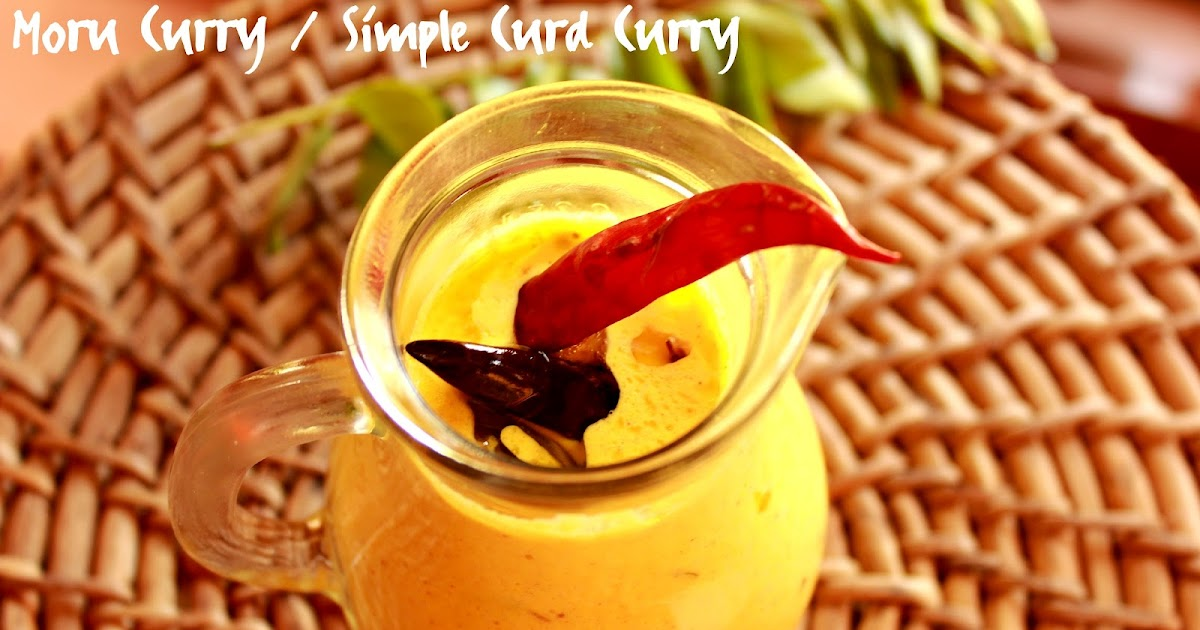 how to make curd curry kerala style