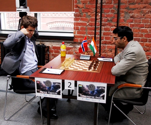 Anand - Carlsen