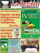"""Periódico """"La Región"""" N° 34- Agosto -  2012"""
