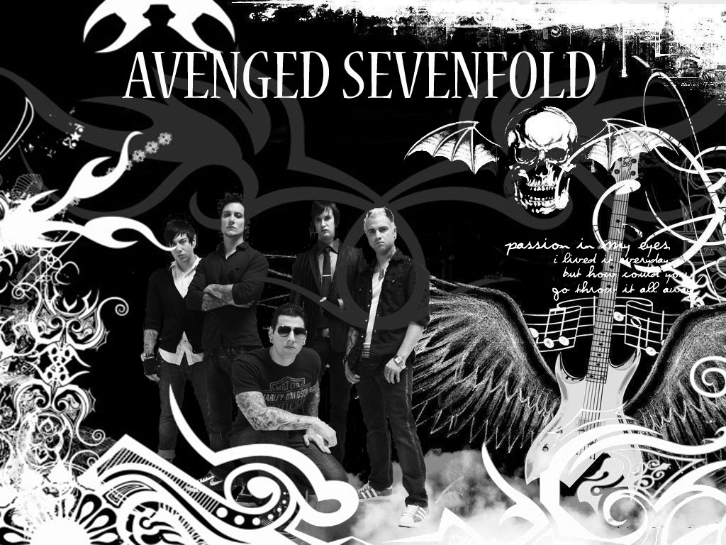 top new wallpapers  Hd Wallpaper Avenged Sevenfold