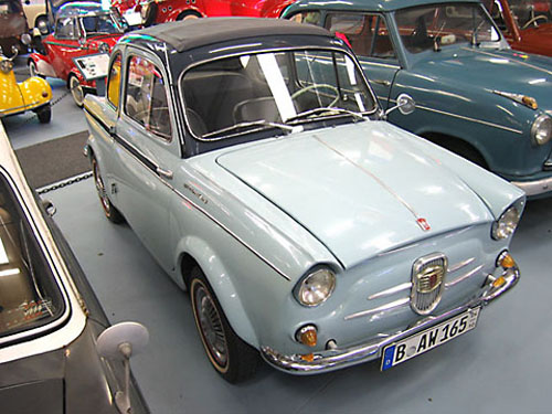 micro carros - microcars - Fiat Weinsberg 500 Limousette