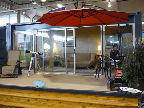 Shipping container homes ecopod shipping container home - Ecopod container home ...