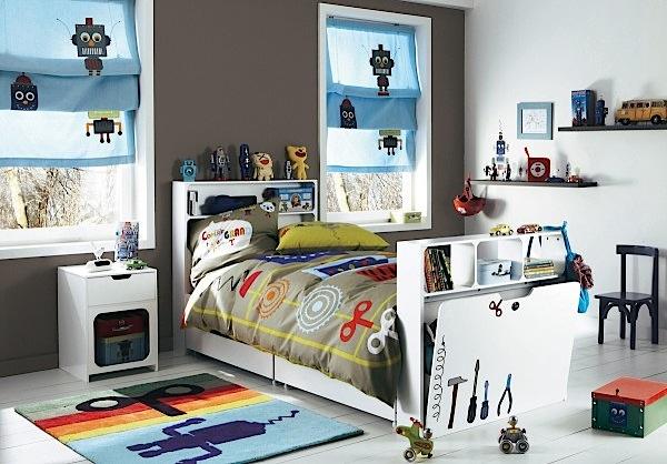 Desain Kamar Tidur Lucu Anak Cowok