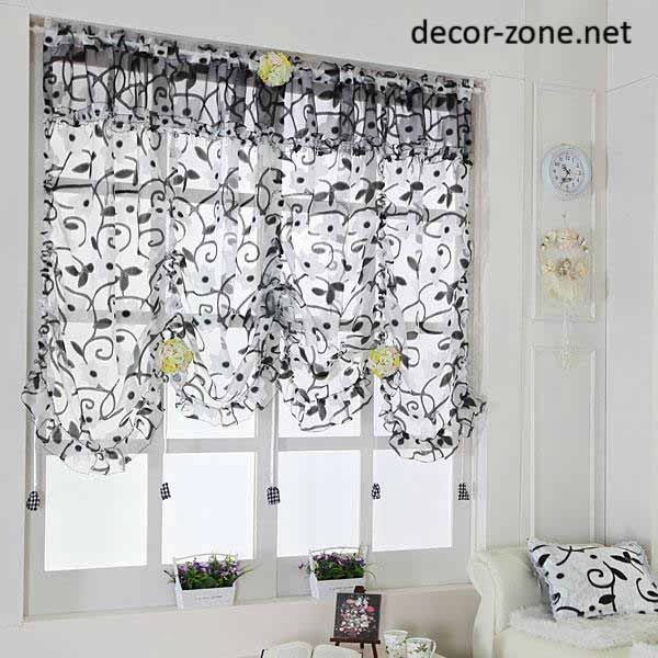 Modern kitchen curtains ideas from south korea Curtain ideas for short windows
