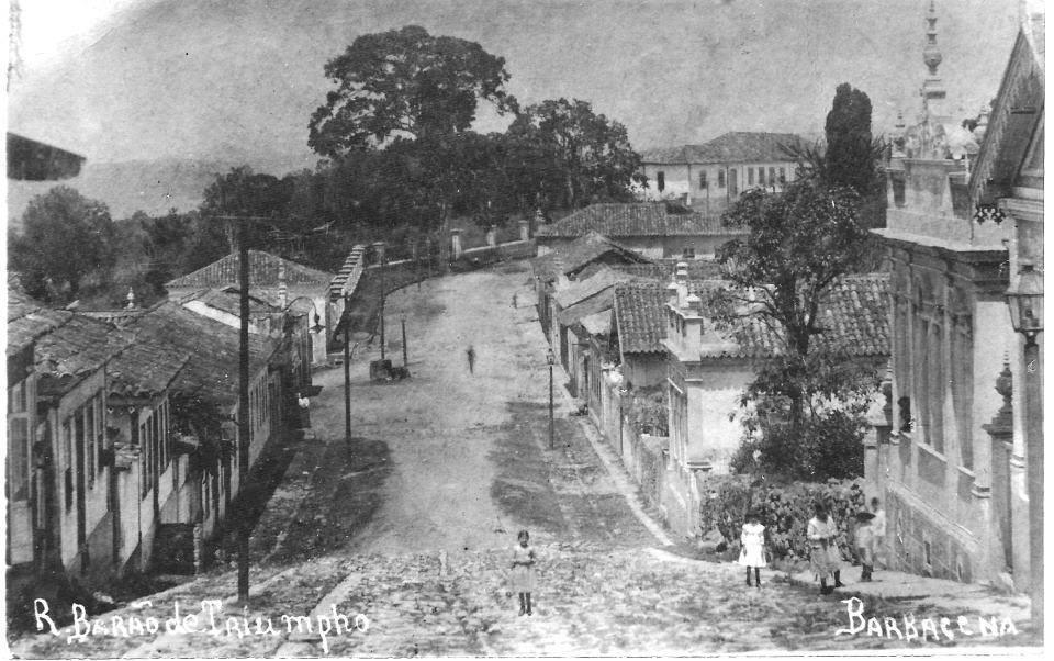 Barbacena MG - Rua Barão do Triunpho
