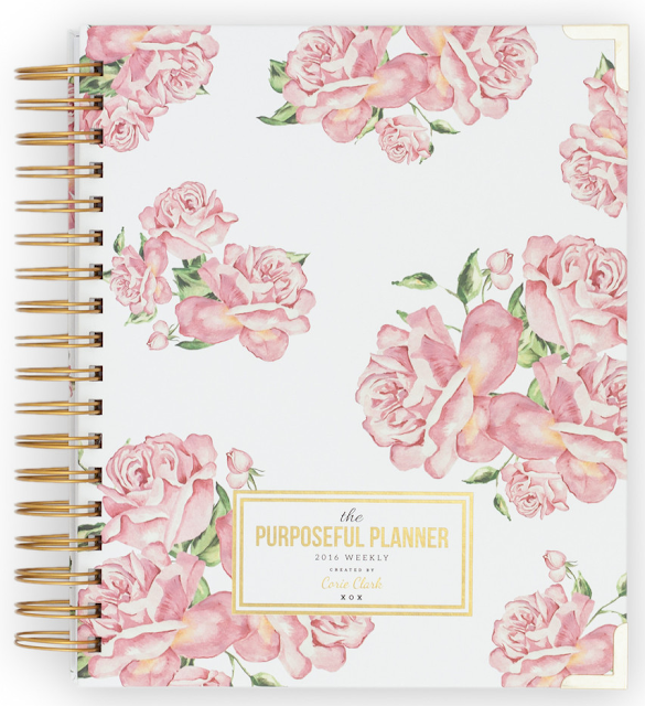 The Purposeful Planner - The Happiness Planner - Prettiest Planners 2016 | #getorganized #schedule #planner #organizer