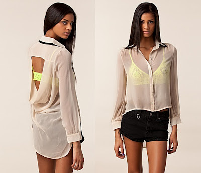 Get The Look: Kourtney Kardashian Open Back Top for less at ASOS.