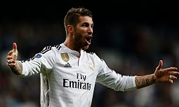 Sergio Ramos has 128 Spain caps and has played more than 400 games for Real Madrid in the 10 seasons since joining from Sevilla.