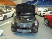 O Cadillac CTS 2012 tem o motor v8 de 700 cv.