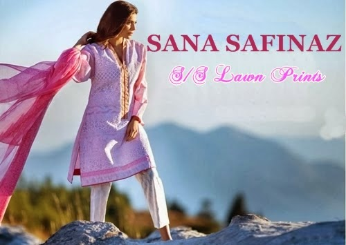 Sana Safinaz Summer Collection 2014 for Girls