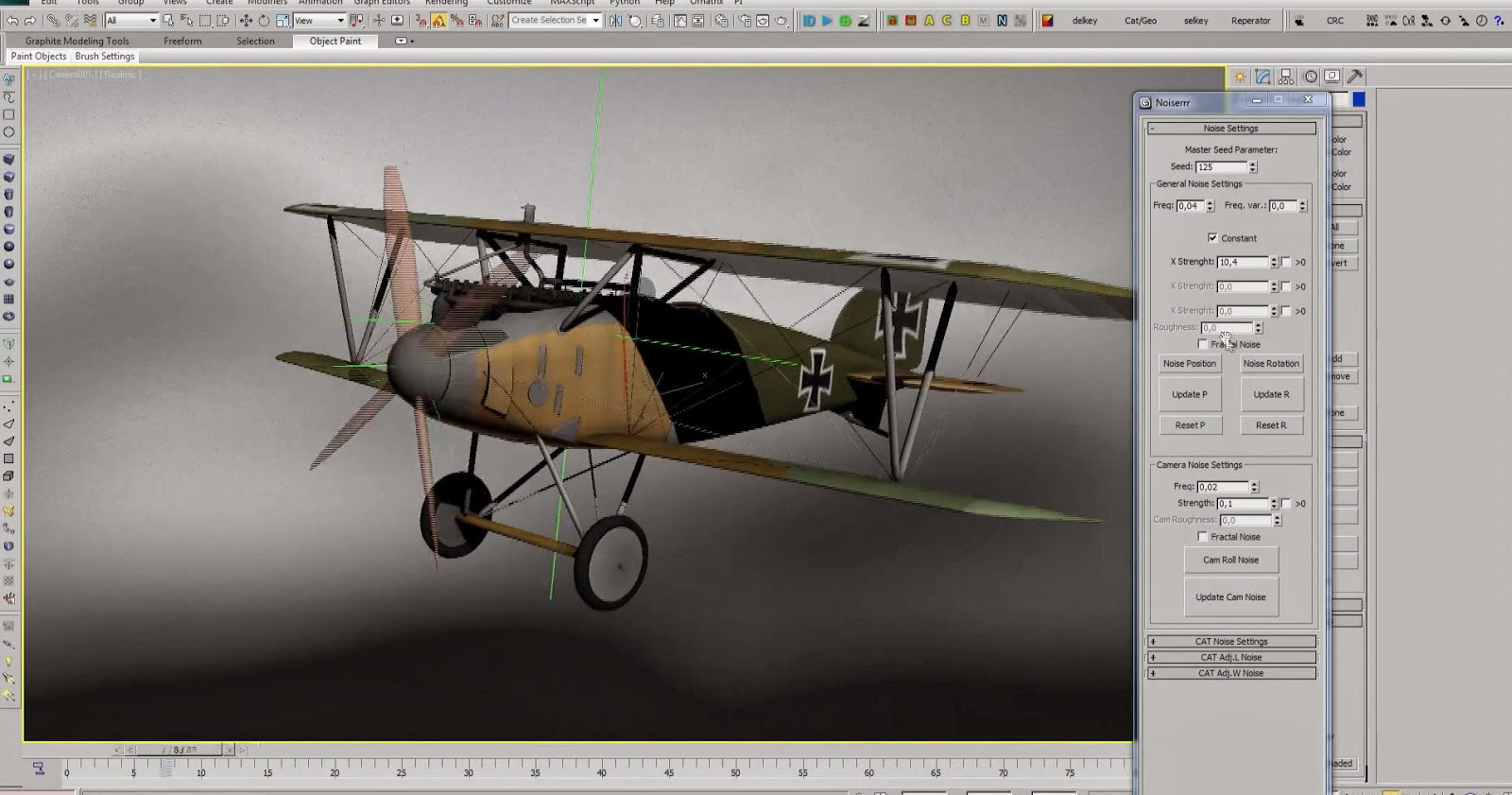 3ds max 2015 tutorial cheating your animation with noise for 3ds max design