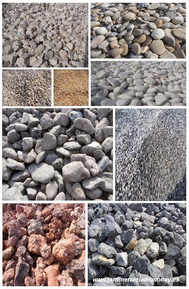 Jardineria eladio nonay gravas para jardiner a - Tipos de piedras naturales ...