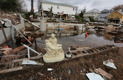 Homes and lives destroyed in Staten Island after Hurricane Sandy
