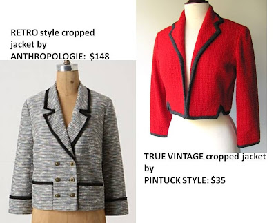 1950's jacket, red jacket