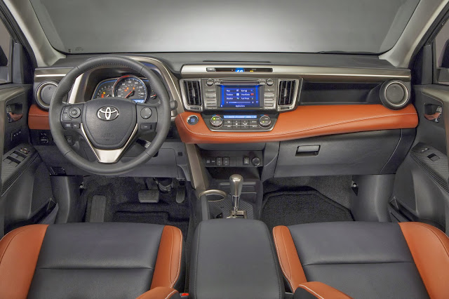 2014 Toyota RAV4 Limited interior