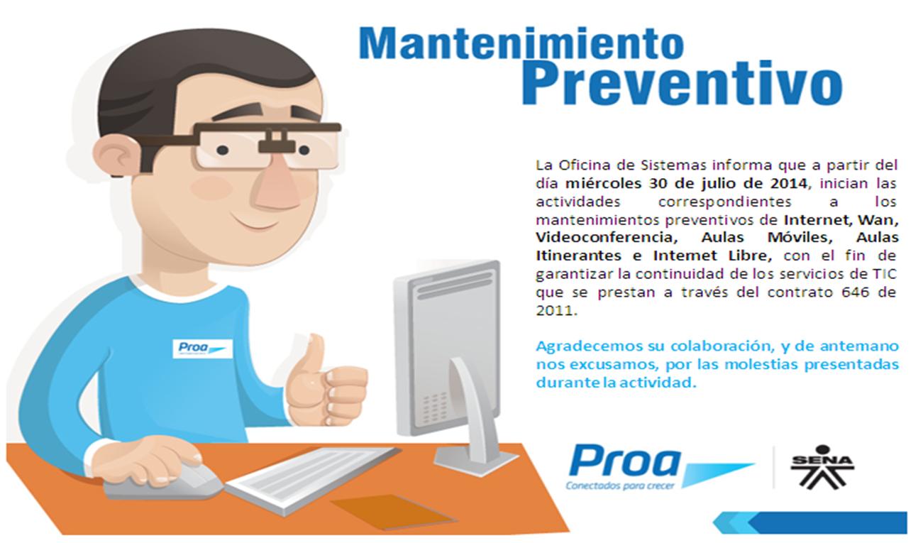 Oficina De Sistemas Mantenimiento Preventivo Wan